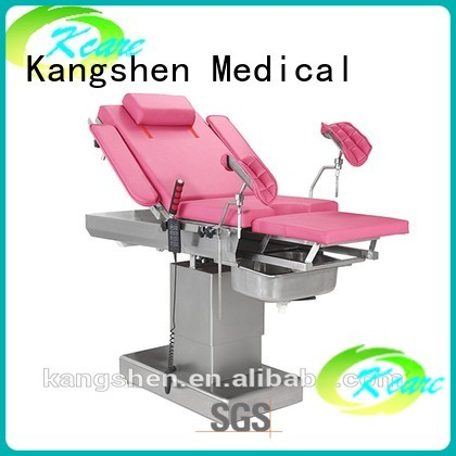 Kangshen Medical Brand gynecological electric gynecologist table table factory