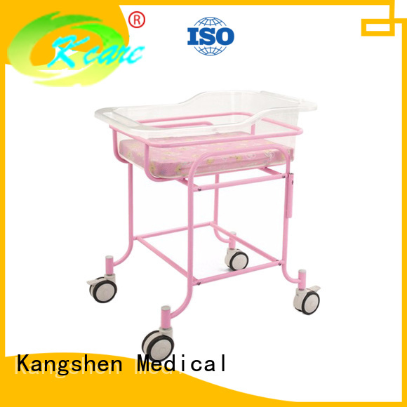 two functions cranks Kangshen Medical Brand children's hospital beds supplier