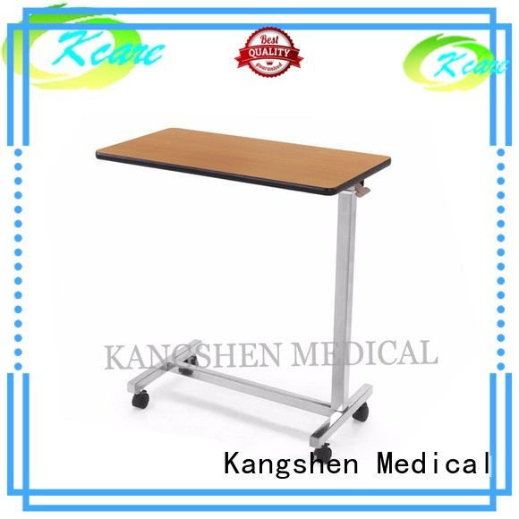 hospital bed tray table vanity Bulk Buy Kangshen Medical