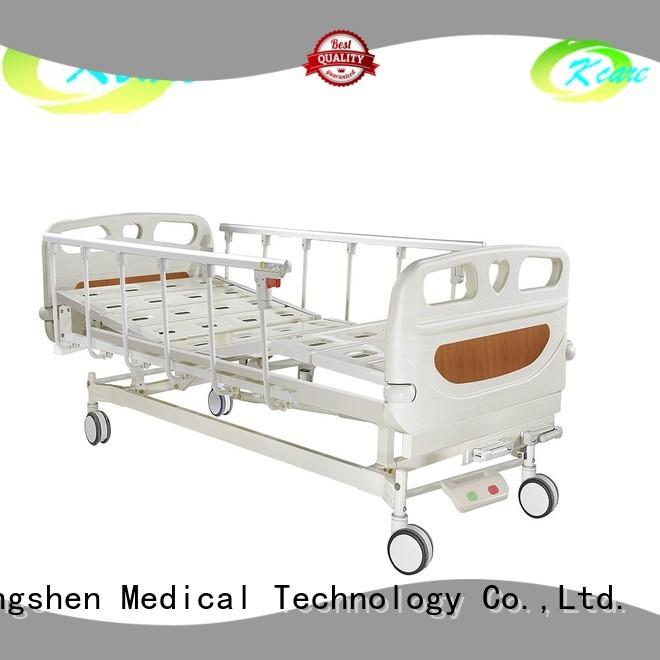 icu operated furniture metal manual hospital bed Kangshen Medical