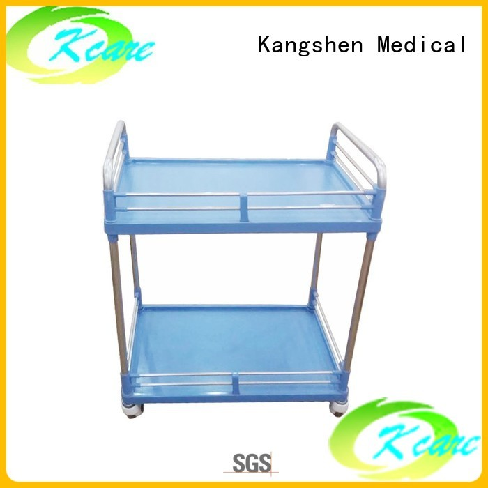 treatment trolley medical trolley with drawers emergency hospital Kangshen Medical company
