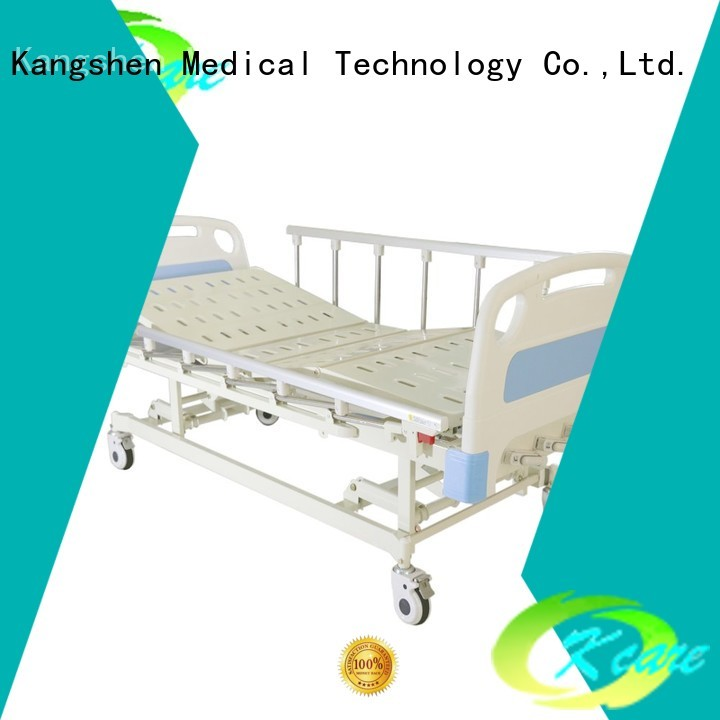 shakes small manual hospital bed price Kangshen Medical manufacture