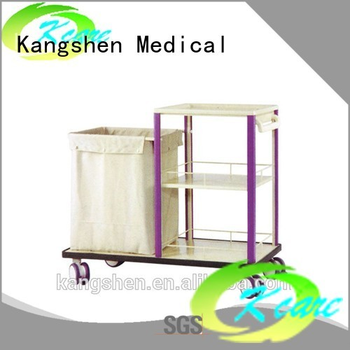 emergency trolley abs medical trolley with drawers treatment Kangshen Medical