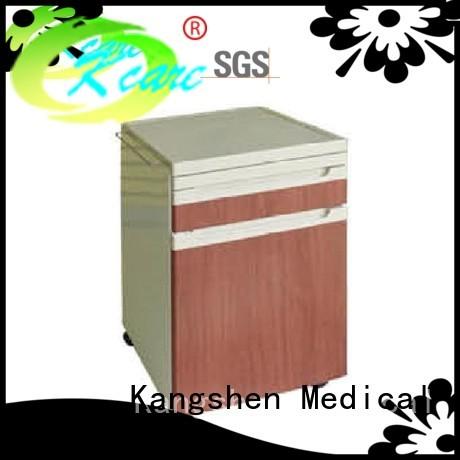 Hot medical bedside cabinet abs Kangshen Medical Brand