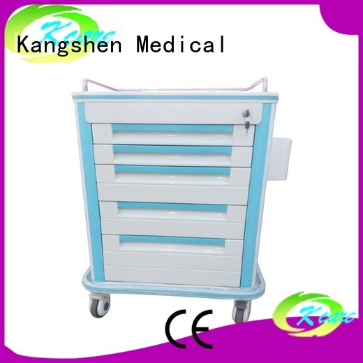 treatment emergency Kangshen Medical Brand medical cart manufacturers factory