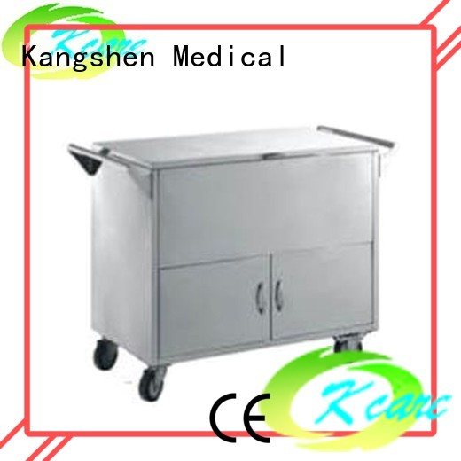 full deluxe central medical equipment cart Kangshen Medical manufacture