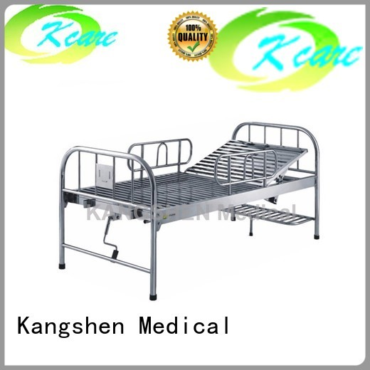 Quality Kangshen Medical Brand metal hospital bed
