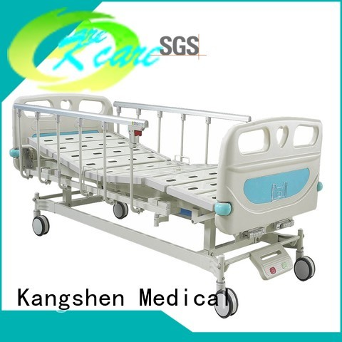 manual hospital bed price rail folding Kangshen Medical Brand
