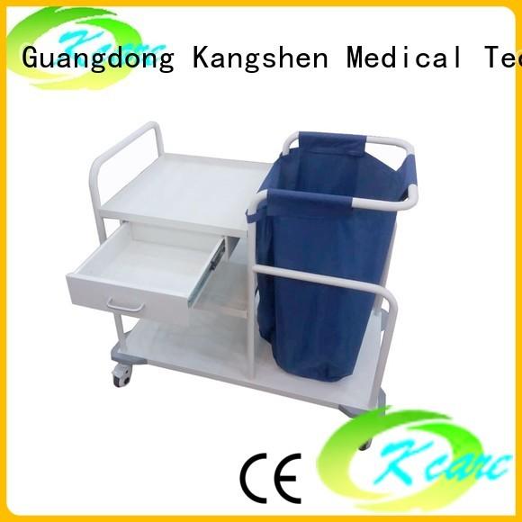 Kangshen Medical Brand full scalloped deluxe medical equipment cart hospital