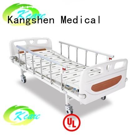 luxury plastic lift manual hospital bed Kangshen Medical Brand company