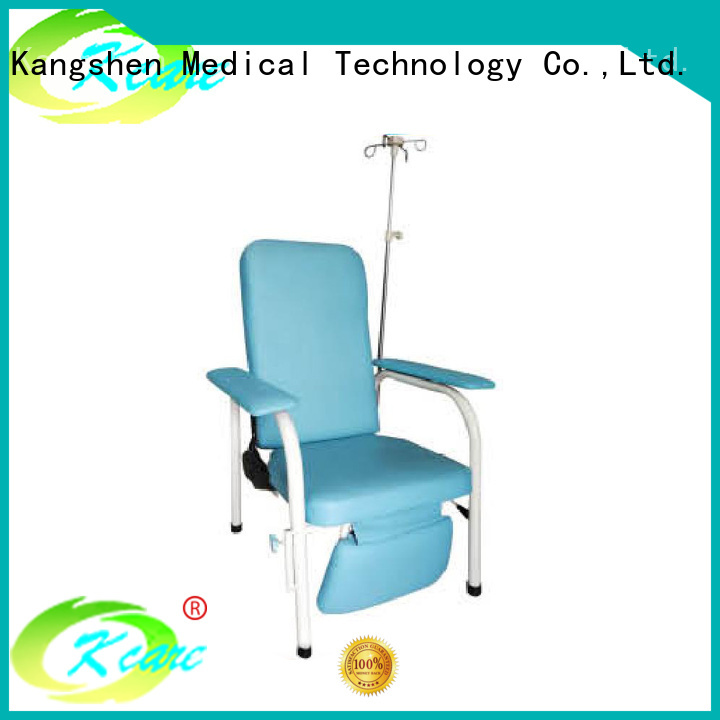 Kangshen Medical Brand sleeping chair hospital chair bed manufacture