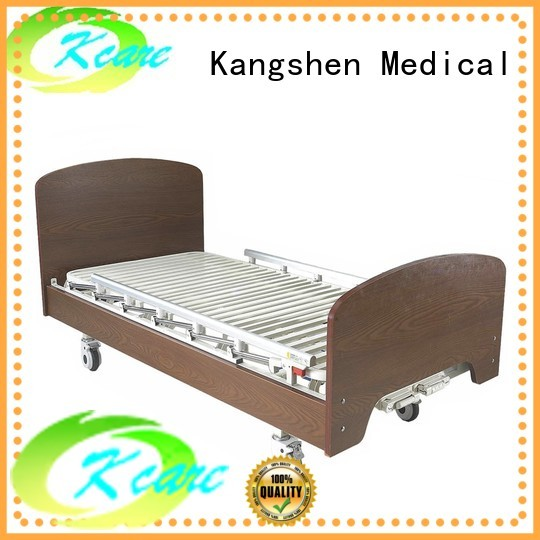 electric hospital bed for home use medical wood care Kangshen Medical Brand hospital beds for home use