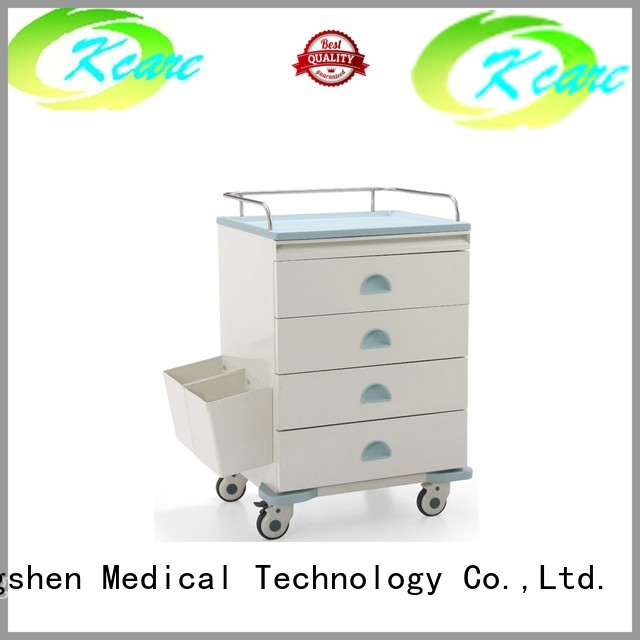medical equipment cart drawer deluxe hospital trolley medical company