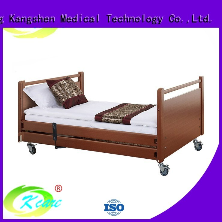 functions three electric hospital bed for home use Kangshen Medical manufacture